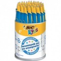 BIC Pot de 36 stylo beginners TWIST. Encre bleue.