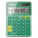 CANON Calculatrice de bureau 12 chiffres LS-123K-MTQ Turquoise 9490B015