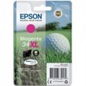 "EPSON (T3473) Cartouche ""balle de golf"" jet d'encre durabrite ultra magenta XL C13T34734010"