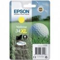 """EPSON (T3474) Cartouche """"balle de golf"""" jet d'encre durabrite ultra jaune XL C13T34744010"""