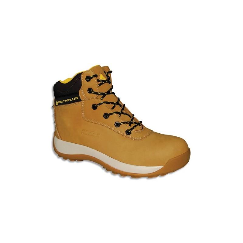 46 Haute cuir de PUPointure Chaussures en Saga Direct DELTA PLUS Papeterie Beige nubucksemelle en Paire jSUGqMVpLz