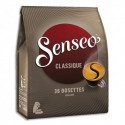 """SENSEO Paquet de 36 dosettes de café moulu """"Classique"""" équilibré 250g"""