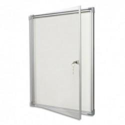 vanerum vitrine int rieur grise 6 feuilles a4 porte. Black Bedroom Furniture Sets. Home Design Ideas