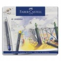 FABER CASTELL Etui de 48 crayons de couleur GOLDFABER. Coloris assortis