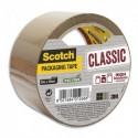 SCOTCH Ruban d'emballage Classic en PP 41 microns - Dim : H50 mm x L50 mètres havane BP965