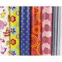CLAIREFONTAINE Rouleau papier cadeau ALLIANCE 60g 2x0,70m 6 motifs fantaisie assortis