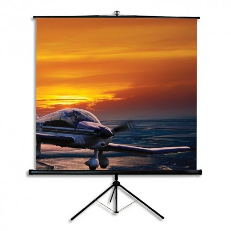 nobo ecran projection portable 160x120cm 1901956 direct. Black Bedroom Furniture Sets. Home Design Ideas