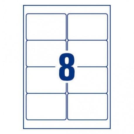 AVERY étiquettes adhésives blanches multi usages boite de 100 feuilles format A4
