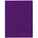 CLAIREFONTAINE Cahier KOVERBOOK piqûre 140 pages Seyès 24x32. Couverture polypropylène opaque assortis