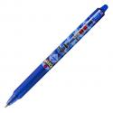 PILOT Roller Frixion Clicker Mika rétractable, pointe moyenne, bleu