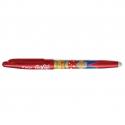 PILOT Stylo à bille encre gel qui s'efface à l'aide de la gomme en bout de stylo FRIXION MIKA rouge