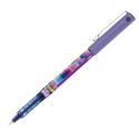 PILOT Roller encre gel Frixion V5 Mika rétractable, pointe fine, violet