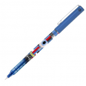 PILOT Roller encre gel Frixion V5 Mika rétractable, pointe fine, bleu