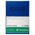 EXACOMPTA Piqûre Brouillard journalier 27x19,5cm - 40 pages