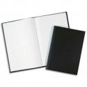 ELVE Registre toilé folioté, format 36 x 23 cm. 500 pages quadrillé 5/5. Coloris noir