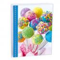 EXACOMPTA Album photos pochettes FANTAISIE. Capacité 24 photos. Format : 11x15 cm, 3 coloris assortis