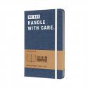 MOLESKINE Carnet couverture JEAN clair. 240 pages lignées. Elastique de fermeture. 13x21cm