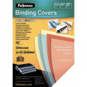 FELLOWES Boîte de 100 plats de couvertures transparent 30/100e incolore 300 microns 53763