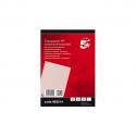 5 ETOILES Boîte de 100 Plat de couverture transparent A4 pré-perforé 200µ 963214