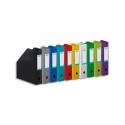 ELBA Porte-revues en PVC soudé, dos de 7 cm 32x24cm, livré à plat. Coloris assortis 10 couleurs mode