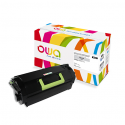 OWA Toner compatible pour LEXMARK noir 52D2000 K15635OW