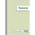 EXACOMPTA Bloc factures 21x14,8cm - 50 feuilles