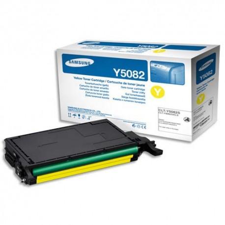 SAMSUNG CLT-Y5082L (Y5082L) Cartouche toner jaune de marque SAMSUNG CLT-Y5082L