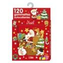LITO DIFFUSION Boîte de 120 gommettes thème Noël