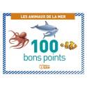 LITO DIFFUSION Boîte de 100 bons points thème les animaux de la mer