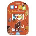 LITO DIFFUSION Jeu de cartes Quizz 120 questions réponses thème la préhistoire