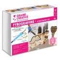 GRAINE CREATIVE Kit pyrogravure