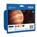 BROTHER LC-1240 (LC1240) value Pack jet d'encre 4 couleurs LC1240VALBP