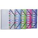 NEUTRE Trieur 8 compartiments 26x32cm en polyproplène opaque 5/100°. Avec index. 5 coloris