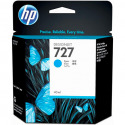 HP Cartouche jet d'encre de marque N°727 Cyan grande capacité