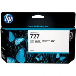 HP Cartouche jet d'encre de marque N°727 Noir Photo grande capacité