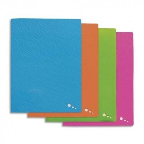 Porte vues ELBA - Protège-documents ART POP en polypropylène opaque. 40 pochettes, 80 vues. Coloris assortis