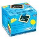 Craie anti-poussière JPC coloris jaune boite de 100