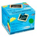 Craie anti-poussière JPC coloris vert boite de 100
