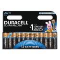 DURACELL Piles Ultra AA x12 5000394004030