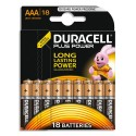 DURACELL Piles Plus power AAA x18 5000394018723