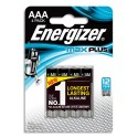 ENERGIZER Blister de 4 piles Max Plus AAA E92 7638900423051