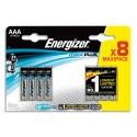 ENERGIZER Blister de 8 piles Max Plus AAA E92 7638900423136
