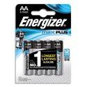 ENERGIZER Blister de 4 piles Max Plus AA E91 7638900423211