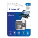 INTEGRAL Carte SDHC 16Go Class 10 INSDH16G-100V10