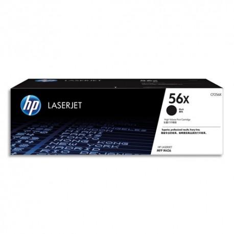 HP Cartouche laser noir haute capacité 56X CF256X