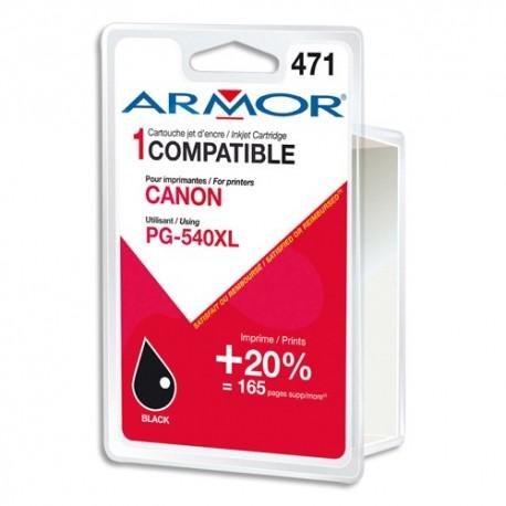 ARMOR Cartouche compatible jet d encre Noir CANON PG-540XL B20328R1