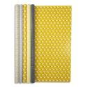 CLAIREFONTAINE Rouleau papier cadeau Mouton Excellia 80g. Dimensions 2x0,70m. Coloris assortis 5 motifs