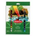 Derwent Academy Set de 24 tubes 12ml de peinture à l'huile assortie