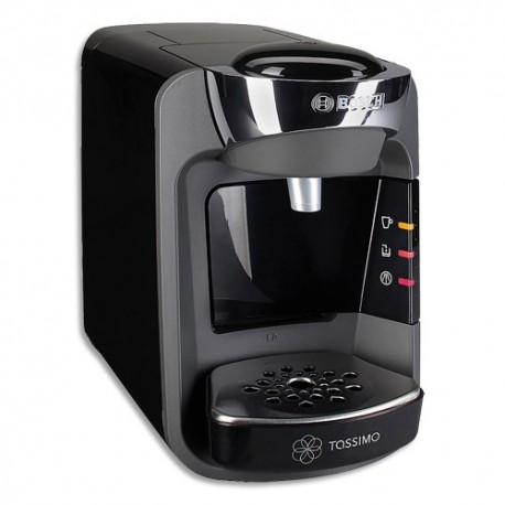TASSIMO Machine à café Suny T32 Bosch Anthracite 1300W, capacité 0,8 litre L25,1 x H16,7 x P30,5 cm