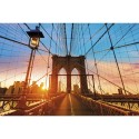 PAPERFLOW Cadre de décoration illustration Pont de Brooklyn en plexiglas - Format : L98 x H65 x P0,3 cm